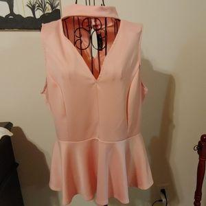 Pink Dress Tank